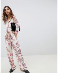 B.Young - Floral Printed Pants - Lyst