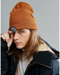 DC Shoes - Snow Neesh Beanie With Badge Logo - Lyst