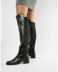 London Rebel - Over Knee Riding Boot - Lyst