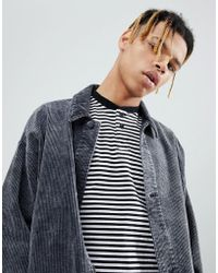 ASOS - Veste en velours ctel style workwear - Lyst