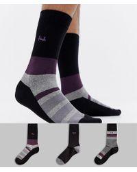 Pringle of Scotland - Ballater Socks 3 Pack - Lyst