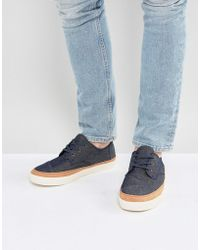 TOMS - Paseo Trainers In Navy - Lyst