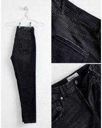 Pull&Bear - Skinny Carrot Fit Jeans In Black - Lyst
