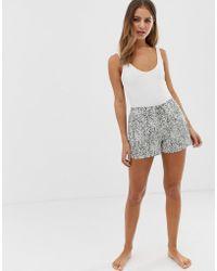 Calvin Klein Pantalón corto de pijama - Gris