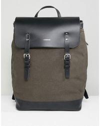 Sandqvist - Hege Backpack In Green - Lyst