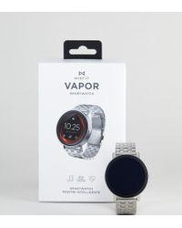 Misfit - Mis7007 Vapor Bracelet Display Smart Watch In Silver - Lyst