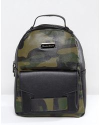 Claudia Canova - Camo Print Backpack - Lyst