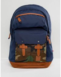 Nixon - Canyon Backpack In Camo - Lyst