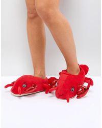 New Look - Lobster Slipper - Lyst