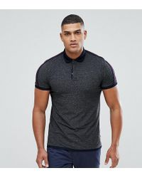 Ted Baker - Tall Polo In Stripe - Lyst