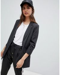 B.Young - Suit Jacket With Ruched Sleeves - Lyst