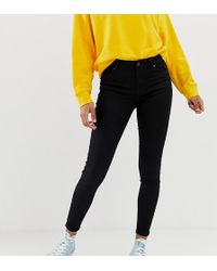 New Look - India Jeans With Super Skinny Fit In Black - Lyst