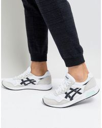 Asics - Lyte Trainers In White H8k2l-0190 - Lyst
