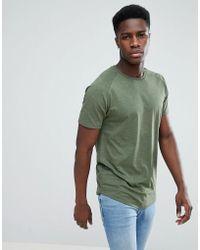 Jack & Jones - Core Longline T-shirt With Curved Hem - Lyst
