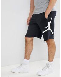 5b6f224063f Nike - Nike Air Fleece Shorts In Black Aq3115-010 - Lyst