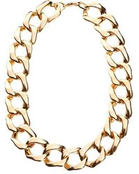 Gogo Philip - Classic Linked Chain Necklace - Lyst