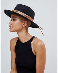 Missguided - Western Detail Fedora Hat - Lyst