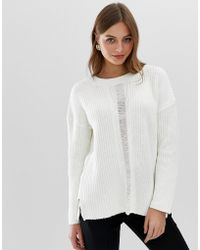 French Connection - High Neck Mozart Knit - Lyst