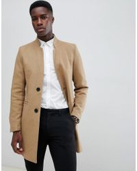 Only & Sons - Overcoat - Lyst