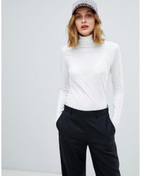 Esprit - Roll Neck Top - Lyst