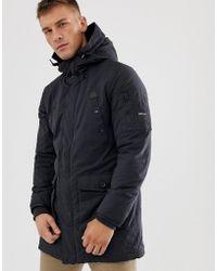 Replay Large Pocket Parka Jacket