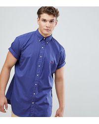 Polo Ralph Lauren - Chemise teinte manches courtes avec logo joueur de polo - Lyst