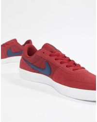 save off ce4d5 5ae91 Nike - Team Classic Trainers In Red Ah3360-600 - Lyst