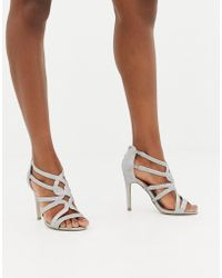 New Look - Heeled Strappy Shoe - Lyst