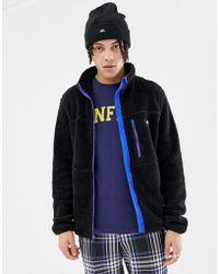 Penfield - Honan Borg Fleece Jacket In Black - Lyst