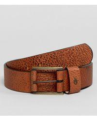 Nixon - Americana Ii Belt In Leather - Lyst