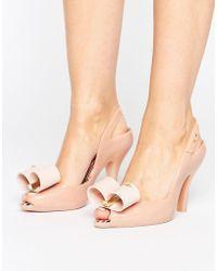 Melissa + Vivienne Westwood Anglomania - Lady Dragon Bow Sandal - Lyst