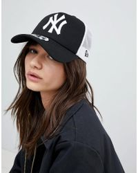 1e4de7dd284 Asos Plain Baseball Cap With New Fit in Pink - Lyst