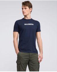 Aspesi   T-shirt Silenzio In Puro Cotone   Lyst
