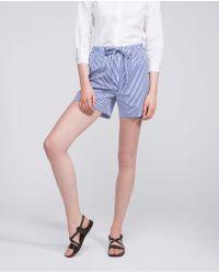 Aspesi - Pure Cotton Short Trousers - Lyst