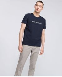 Aspesi - Pure Cotton Jersey T-shirt Brutto Ma Buono - Lyst