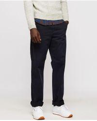 Aspesi - Garment Dyed Cotton Trousers Lavoro - Lyst