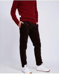 Aspesi - Corduroy Cotton Trousers Dover - Lyst