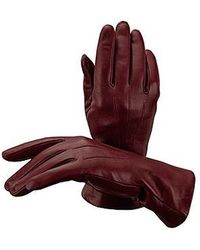 Aspinal - Ladies Cashmere Lined Leather Gloves - Lyst