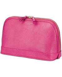 Aspinal - Hepburn Small Cosmetic Case - Lyst