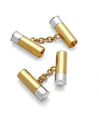 Aspinal - Double Cartridge Cufflinks - Lyst