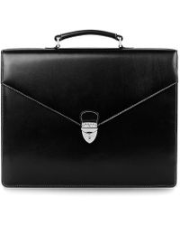 Aspinal of London - Executive Laptop Briefcase - Lyst