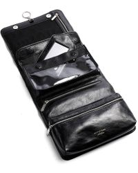 Aspinal - Leather Hanging Wash Bag - Lyst