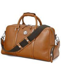 Aspinal of London - Tan Brown Italian Calf Leather Aerodrome 48 Hour Mission Bag - Lyst