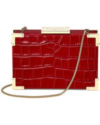 Aspinal - The Lion Box Clutch - Lyst