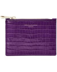 Aspinal - Small Essential Flat Pouch - Lyst