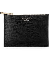 Aspinal of London - Small Essential Flat Pouch - Lyst