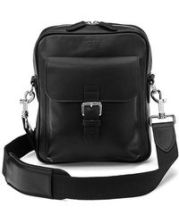 Aspinal - Men's Harrison Small Messenger Bag - Lyst
