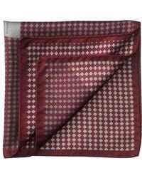 Aspinal - Savile Row Silk Twill Pocket Square - Lyst