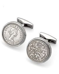Aspinal | Sixpence Cufflinks | Lyst