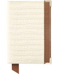 Aspinal - Plain Passport Cover - Lyst